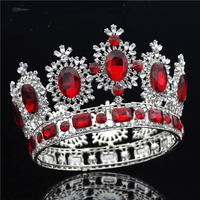 Crystal Wedding Crown Bridal Headdress Queen crown Diadem Tiaras and Crowns Head Jewelry Pageant Hair Accessories