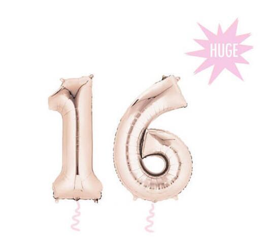 Пользовательские Шар баннер 16 Розовое золото слово участник баннер, письмо гирлянда, на день рождения и свадьбу Photo Booth Опора, Baby Shower