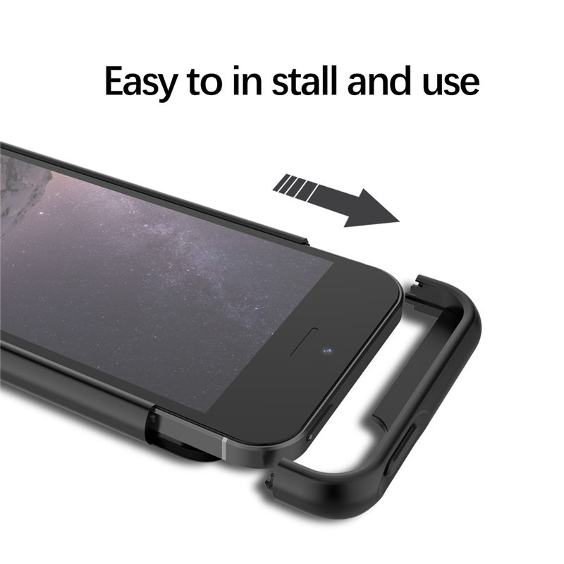 Image 3 - Slim shockproof battery charger case for iPhone 5 5S SE SE2 2018 5G External charger Cover ultra Backup power bank Charging case-in Battery Charger Cases from Cellphones & Telecommunications