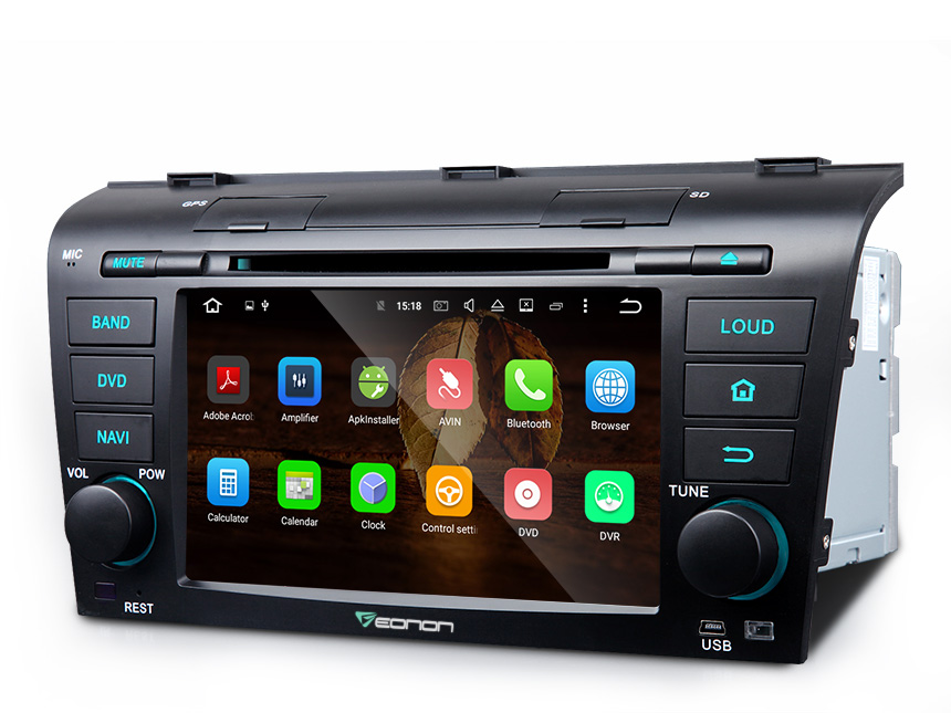 Top Eonon Android 6.0 2GB 8Core Octa Core Car DVD Player Stereo GPS Navigation Head Unit WIFI 3G USB for Mazda 3 2004-2009 1