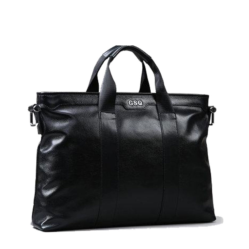 Здесь продается  Cross-section business leather men portable shoulder single layer of leather briefcase  Камера и Сумки
