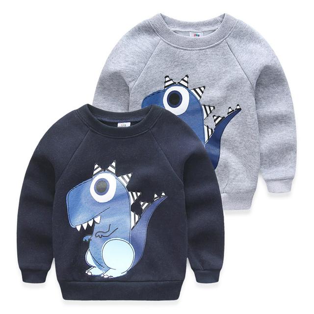 Dinosaurios bebé polar 2015 edición de han nuevos niños de ropa qiu dong traje para hombre infantiles desgaste de los niños chaquetas de lana