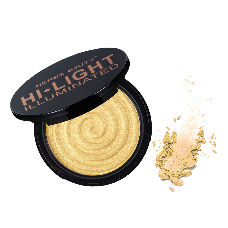 HERES B2UTY Makeup Face Highlighter&Matte Bronze Trimming Highlighter Powder Illuminated Soft Mineral Long Lasting FREE SHIPPING