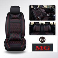 A Set Car Seat Leather Full Car Set Seat Covers Auto Pads With Supplies Office Chair For Mg Mg3 Gs Gt Mg6 Mg5 Mg3sw Mg7 Mgtf