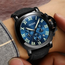 Men's watch quartz with date Clock OLEVS Mens watches top brand luxury Sport water resistant Military Wrist watches Reloj mujer