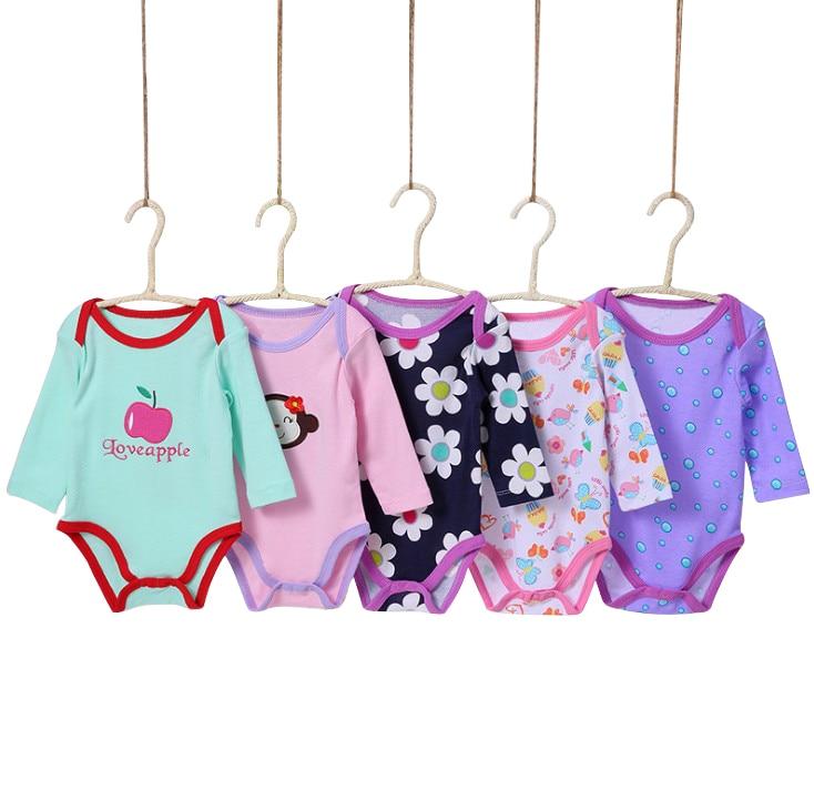 0-24 m Lindo Encantador 5 Unidades / Paquetes Baby boy Body Infantil - Ropa de bebé - foto 5