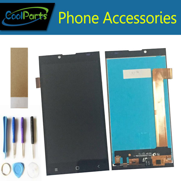 1PC/Lot For Prestigio Grace Q5 PSP5506 Duo PSP 5506 PSP5506 LCD Display Screen+Touch Screen Digitizer Black Color With Tool&Tape