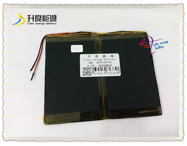 3.7V 9000mAH  SD 32112145 (polymer lithium ion / Li-ion battery) for tablet pc,MOBILE POWER BANK;cell phone,speaker