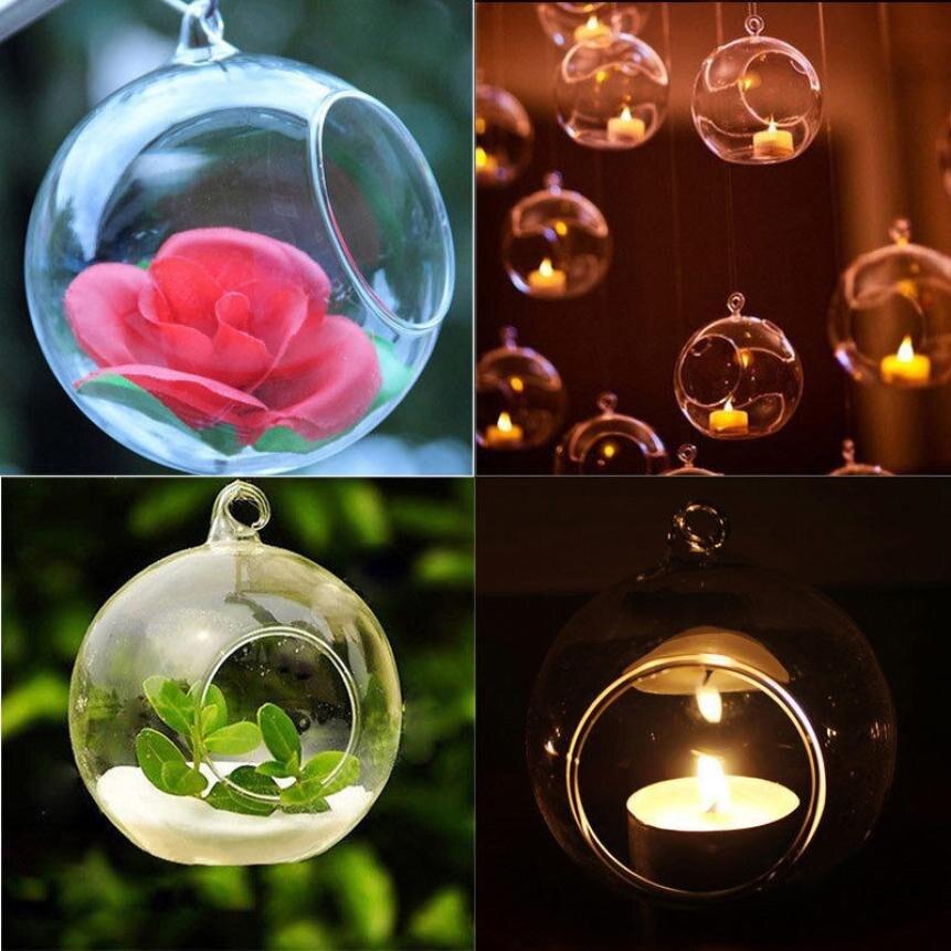 O.RoseLif 100PCS / Shumë mbajtës të qirinjve të qelqit në markë - Dekor në shtëpi - Foto 4