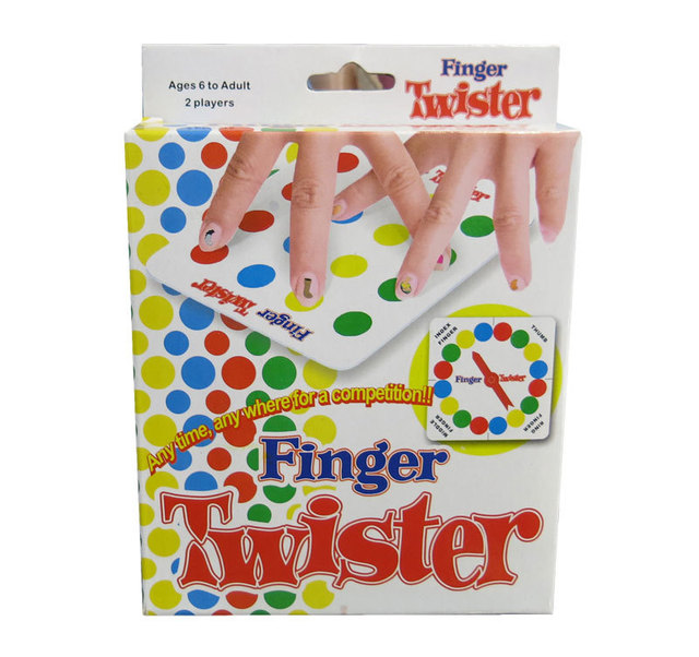 free shipping finger twister game fun board game for 2 players party