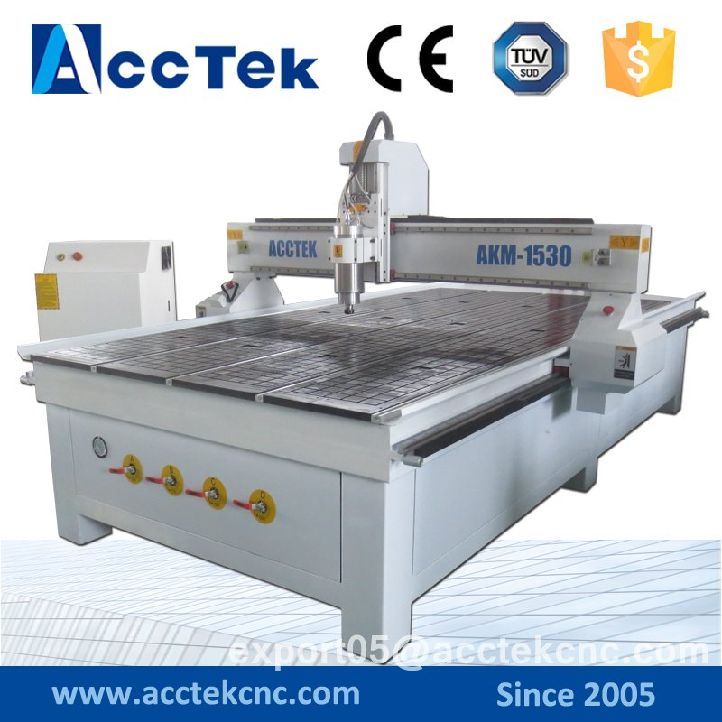 AKM1530 Jinan AccTek CE certificated cnc router table for car mats China supplier