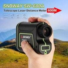 SNDWAY SW-600A Монокуляр телескоп лазерный дальномер 600 м Trena лазерный дальномер Гольф охота лазерный дальномер