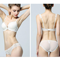 Jovens Senhoras New Hot Lace lingerie Sexy Conjunto de Sutiã Mulheres intimates copa push up bras lingerie conjunto de sutiã calcinha acolchoado grosso Para menina