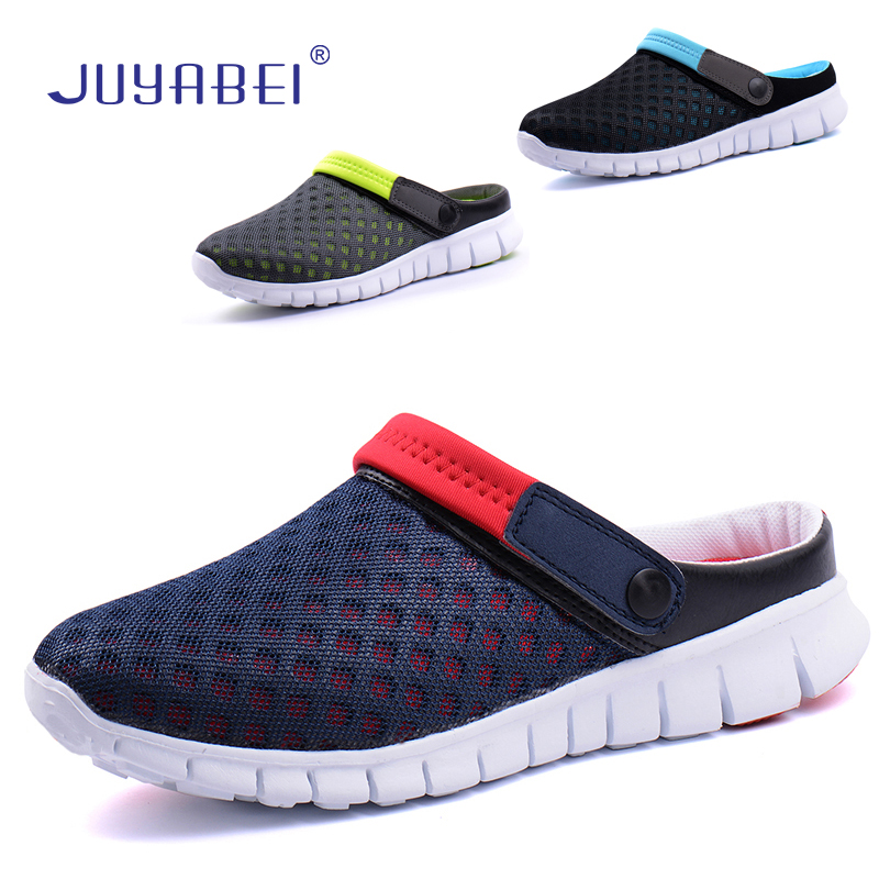 Summer Korean Unisex Casual Slippers Hotel Western Restaurant Food Service Breathable Mesh Chef Shoes Cafe Bakery Work Shoes