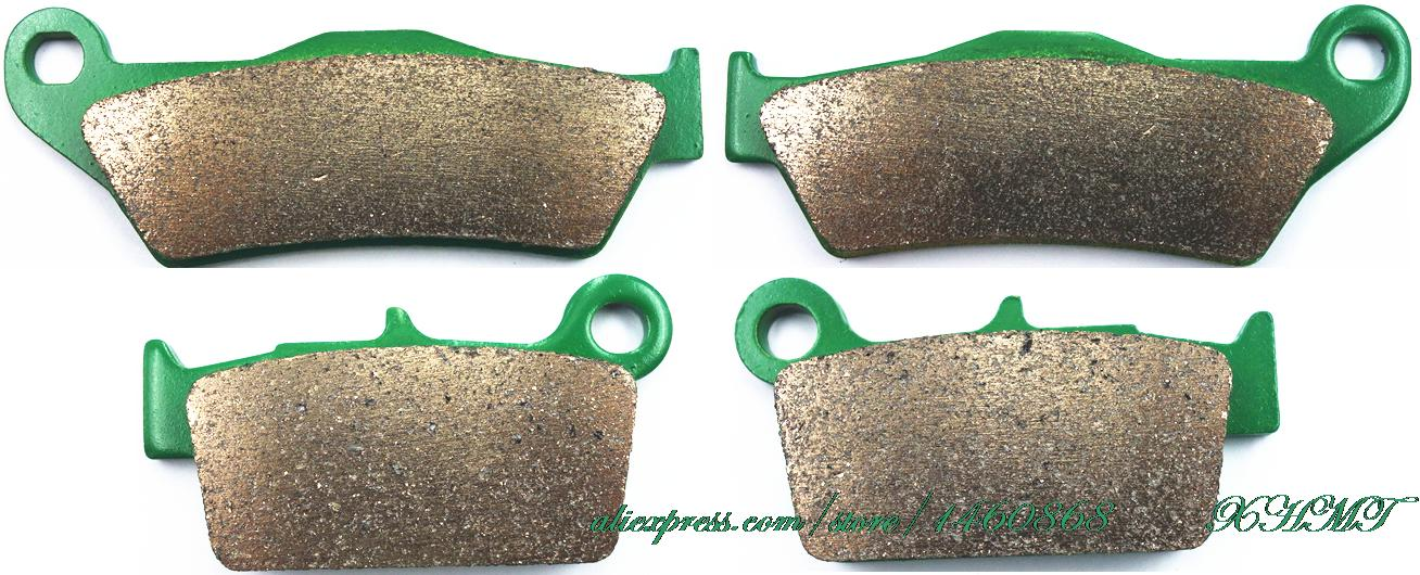 Brake Shoe Pads Set For Tm Enduro En 125- Usa Version 2005 2006 2007 2008 / 250 2005 &Up/ 300 2005 &Up/