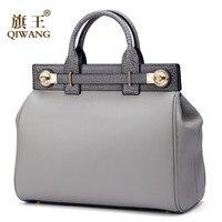Elegant Ladies Handbags Women Fashion Bags Luxury Tote Handbag Original Vintage Italian Genuine Leather Bag bolsa feminina