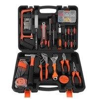 DIY Home Maintenance Kit Multifunctional Home Repair Tools With Storage Case 100 PCS Car Garage Garden Hand Tool