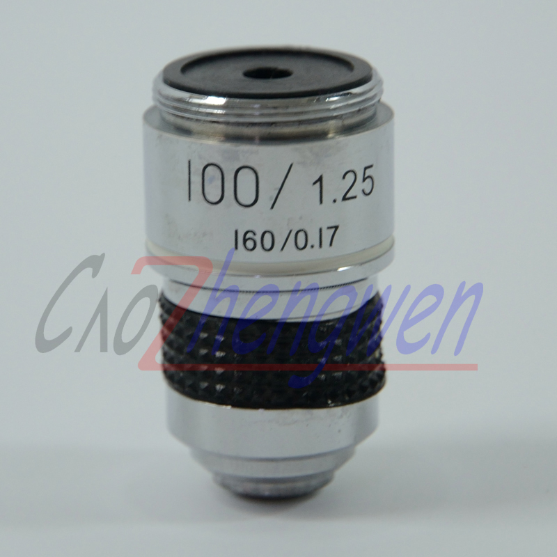 1PC 100X L 185 School Lab Eductional Student Use Biological Bio Microscope Achromatic Optical Objective Lens