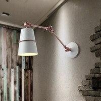 Minimalista e moderno led americano quarto lâmpada de parede cabeceira sala estar jantar corredor do hotel iluminação wf5151036