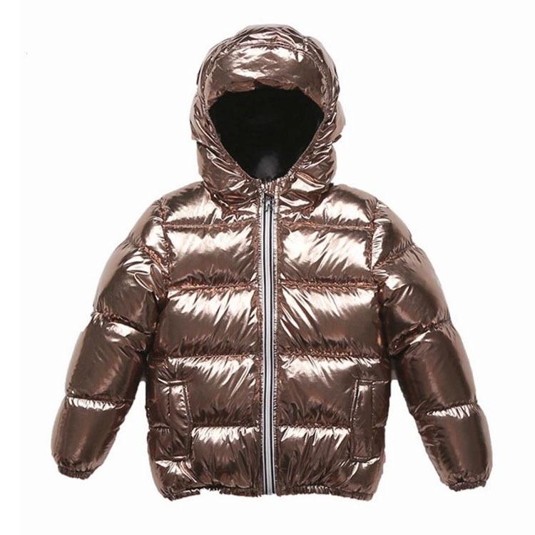 Boys Winter Down Jacket Girls Down Coat Children Parkas Kids Hooded Snow Suit Child Outerwear Teenagers