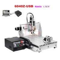 Freeshipping Fr UK No Tax CNC Engraving Machine USB Port 1 5KW CNC 6040Z USB CNC