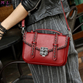 MALLUO Women Messenger Hags High Quality Leather Handbag Female Small Shoulder Bag Ladies Famous Brand Designer Bolsa Feminina