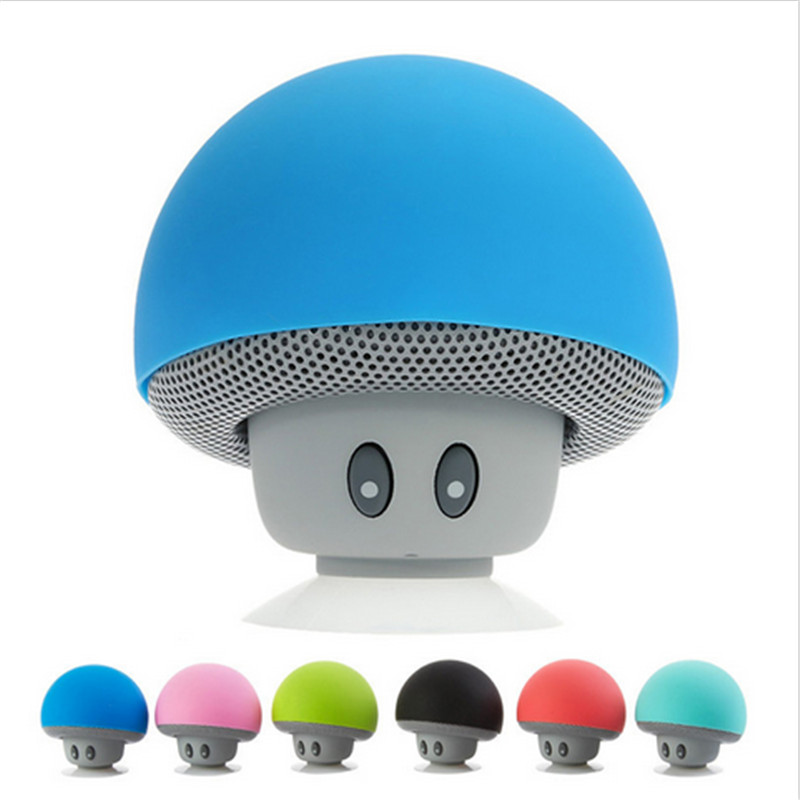 Desxz VS-10001 Mini Wireless Portable Bluetooth Speaker Used Waterproof Bluetooth Mushroom for...