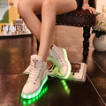 Spring and autumn of 2017 new Gaotong usb charging kids led shoes Boys and girls flashing lights shoes shiny sneakers childrens