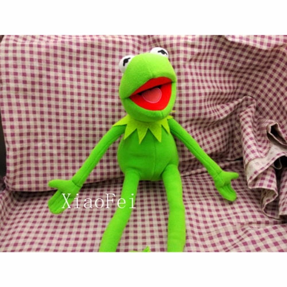 HOT Kermit Sesame Street Muppets Kermit the Frog Toy plush 18 maggie and kermit hollywood