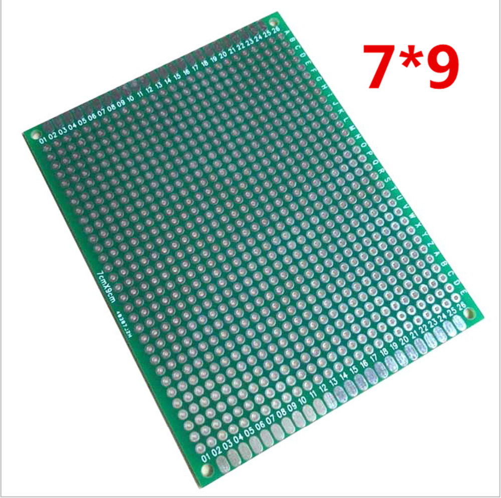 12pcs 8x12 7x9 5x7 4x6 3x7 2x8 Cm Double Side Copper Prototype Pcb Board 8x12cm Single Plate Spray Tin Universal Circuit For Arduino Free Shipping Dropshipping In Sided From
