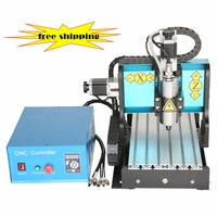 JFT High Efficient Pcb Mini Engraver Cnc Diy Wood Router Model Artcam 3d Milling Machine
