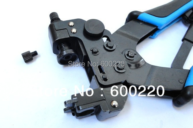 Compression crimping tool for coaxial cable RG6, RG59 CATV F, BNC, RCA connectors Compression Crimping plier crimper LS-DE156