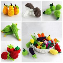 Baby Kids Crochet Knit Pretend Play