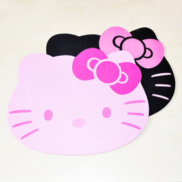 0816b152b High Quality Creatiive Non-Slip Lovely Cartoon Hello Kitty Mouse Pad Cute  Women's Mouse Mat For Work And Games