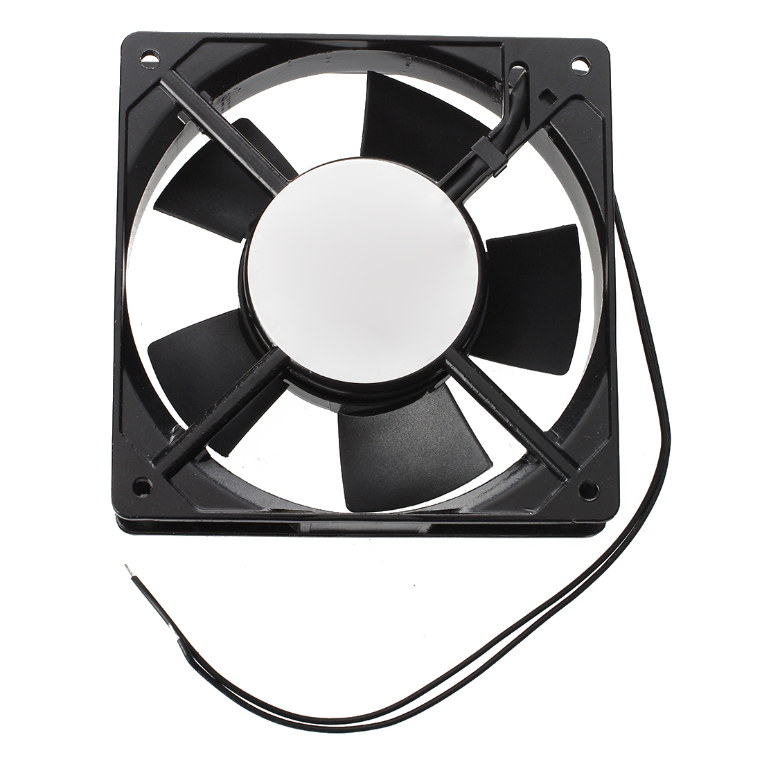 PROMOTION! New 278g Black Metal Industrial 120 X 120 X 25mm 0.1A AC 220 240V Cooling Fan