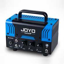 лучшая цена JOYO Guitar Amplifier Tube Speaker banTamP Small Monsters 20W Musical Instruments Preamp AMP Electric Bass Guitar Accessories