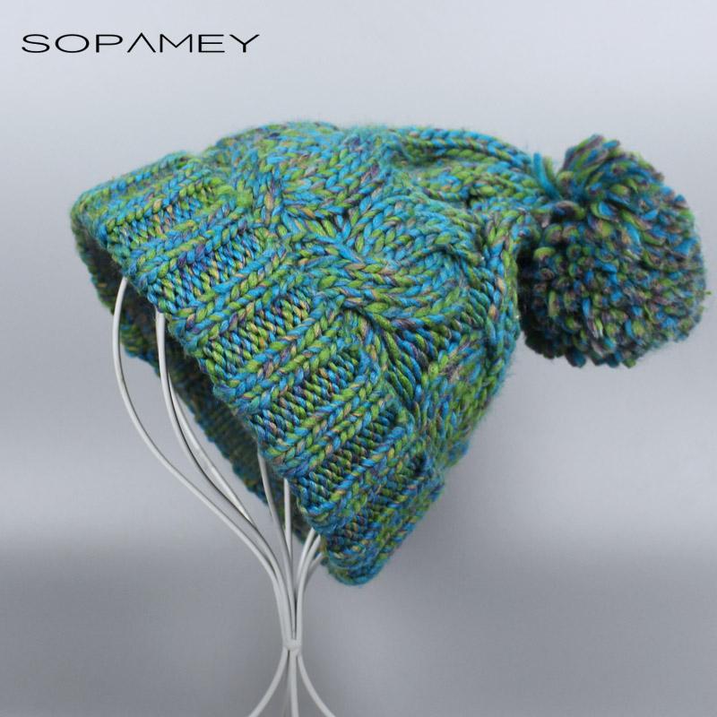 New Fashion Winter Women Hat Skullies Beanies Warm Hats Knitted Cap for Beanie Simple Knit Caps Candy Color Accessories Bones 2017 skullies beanies winter hat for women warm hat fashion knitting warm cap warm wool hat cap leisure fashion winter hats