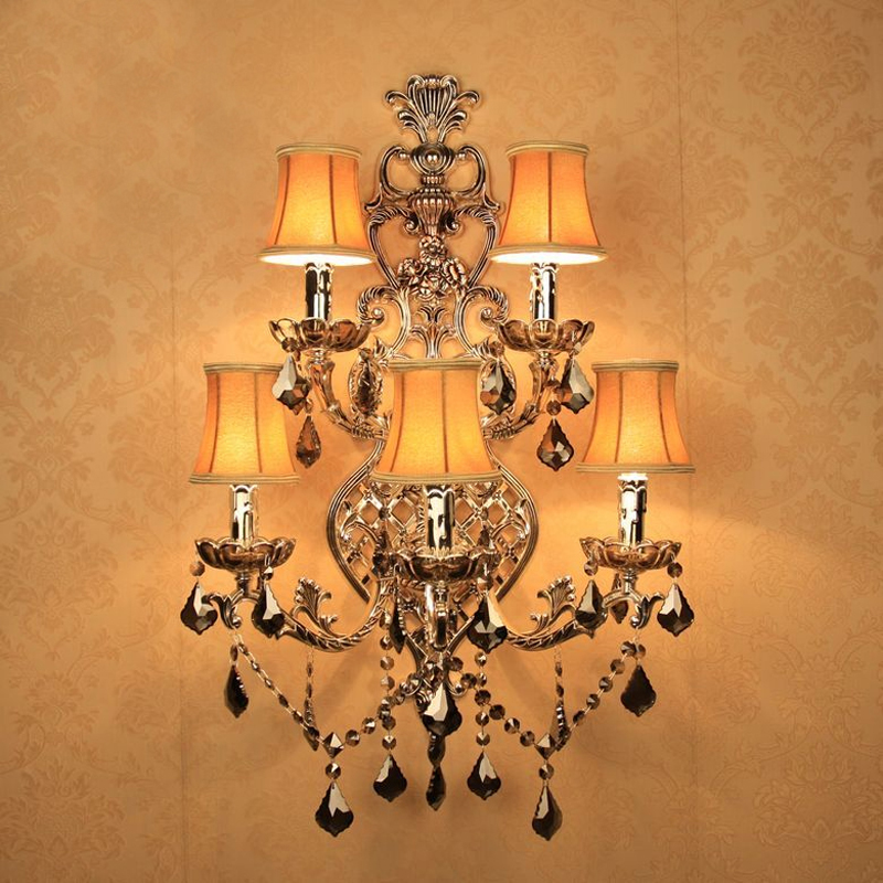 Chandeliers Wall Lights Lamps At: Aliexpress.com : Buy Antique Silver Wall Sconce Retro