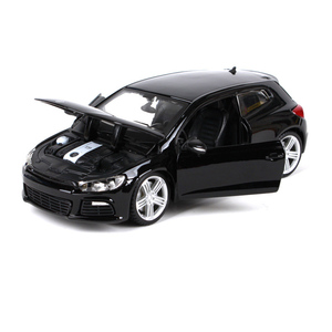 Image 5 - Bburago 1:24 VW Scirocco R Diecast Model Car Metal Car Kids Toys Car simulation model For Gift Collection