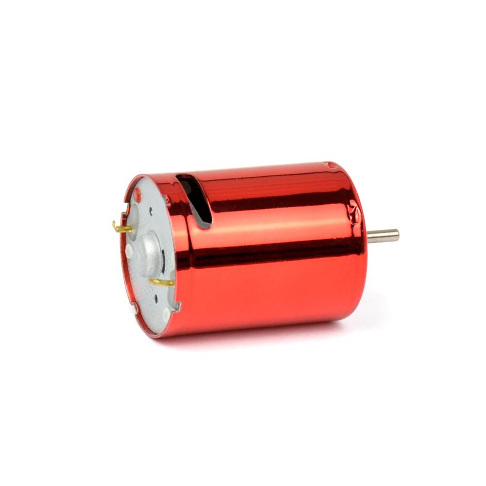 Aiyima 7.4 В 50000 об./мин. фабрики красный Магия 370 Двигатели постоянного тока для воды бомба 11.1 В 75000 об./мин. высокой скорость Двигатели постоянног...