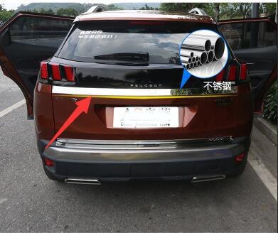 For Peugeot new 4008 tail door decorative sequins