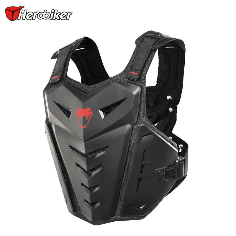 91da4877 US $47.0 22% OFF|HEROBIKER Motocross Body Armor Motorcycle Armour Moto  Motorbike Vest Off Road Dirt Bike Armor Back Chest Protector,M 1007-in  Armor ...