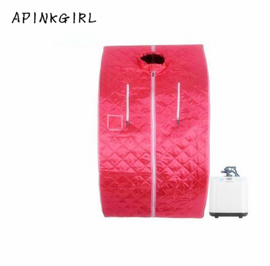 Apinkgirl New Family sauna steam box Skin Spa Portable Steam Sauna Tent Steamer free shipping