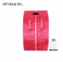 Apinkgirl new family sauna steam box skin spa portable steam sauna tent steamer free shipping .jpg 250x250
