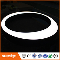 Double Side Led Lighting Outdoor Open Shop Letter Sign