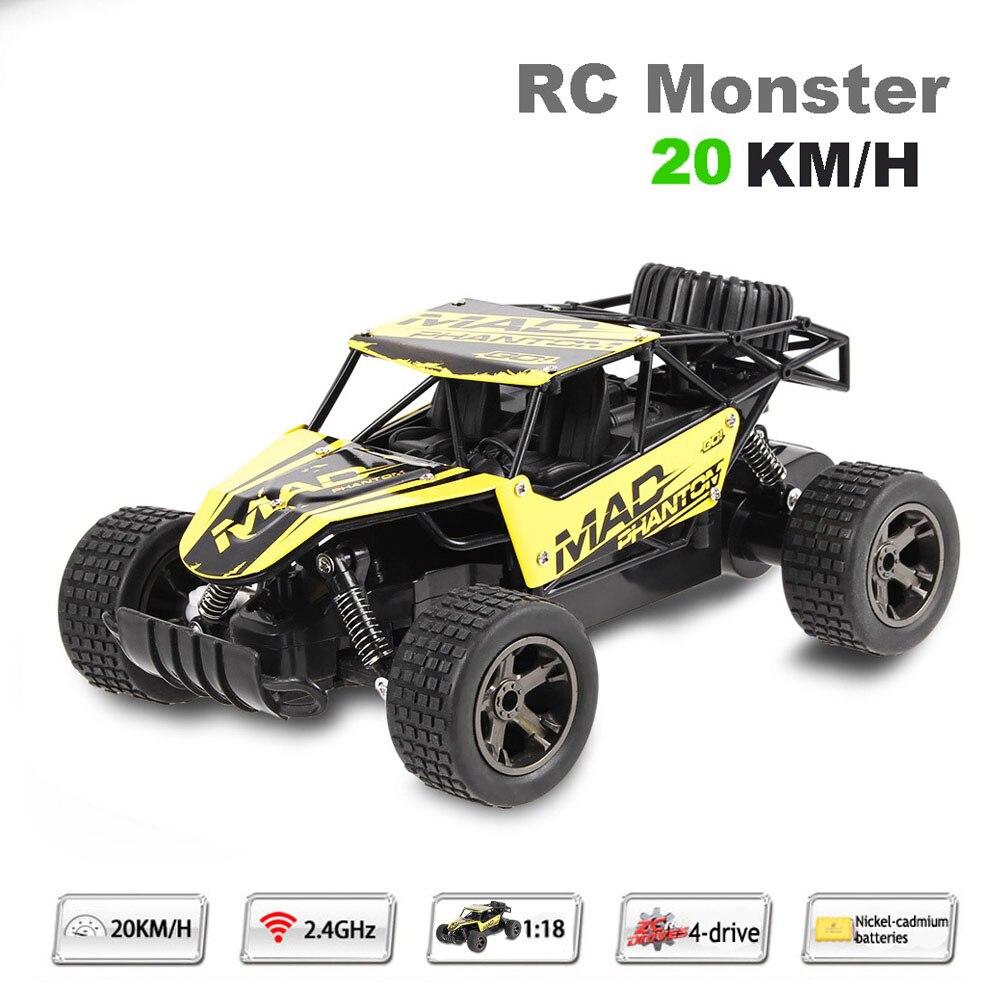 Highspeed Fernbedienung Auto 1:18 20 KM/STD Geschwindigkeit RC Drift RC auto Funk Autos Maschine 2,4G 2wd off-road buggy Kinder geschenk