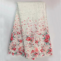High Quality African Lace Cotton Cord Lace Guipure Lace Fabric For Party Dress WS1079
