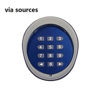 Direct Factory Door Lock Access Control Wireless Keypad Password Switch Kit For CAME FAAC BFT Gate Door MOTOR Access Control