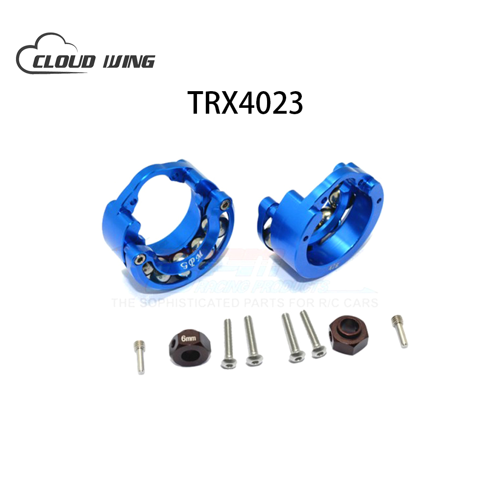 TRX4 Wheel Knuckle Axle Weight Beads Rolling Ring With Outer Cup+9mm Hex Adapte Original Parts For RC Car Crawler Traxxas TRX-4 traxxas trx 4 trx4 82056 4 pure copper pendulum wheels knuckle axle rotary type weight 21mm hex adapter set trx4023xx