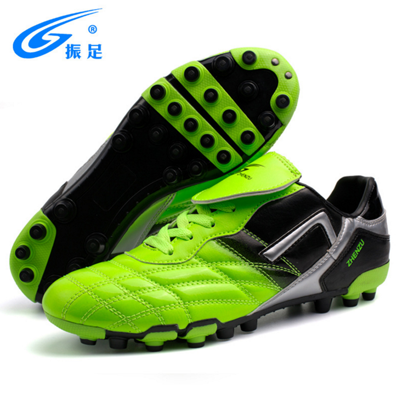 ZHENZU Men Soccer Shoes Outdoor Cleats Football Shoes PU Professional Male Sneakers Soccer Shoes Men Football Boots Size 35-44 tiebao new men outdoor grass soccer shoes cleats for adults children sports football shoes brand football boots male size 35 44